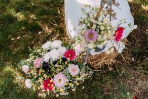 rustykalne kwiaty ślub warszawa