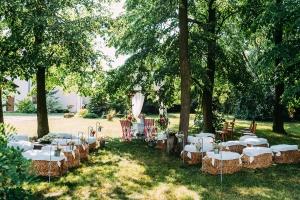 ślub w plenerze warszawa pergola