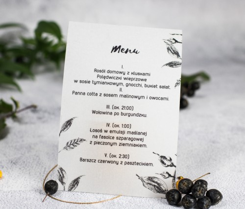 menu-weselne-szkic-liscie-kalka