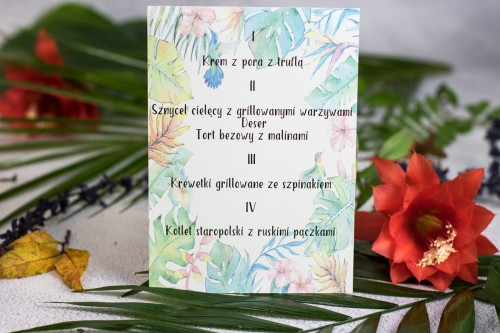 menu-weselne-liscie-tropikalne