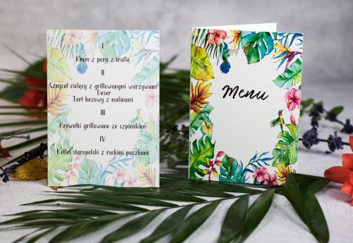 menu-weselne-tropikalne-liscie