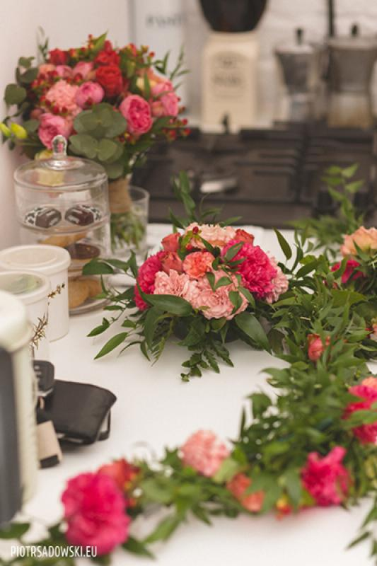 kwiaty dekoracje rustykalne warszawa