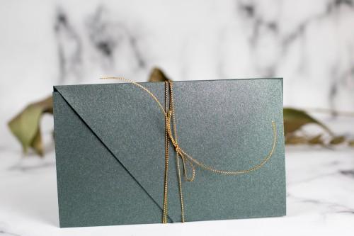koperta-zaproszenie-zloto-zielen