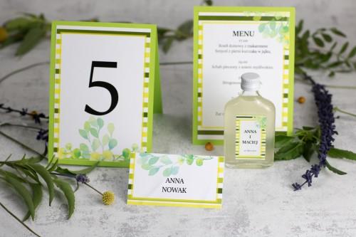 papeteria-wesele-zielone-paski