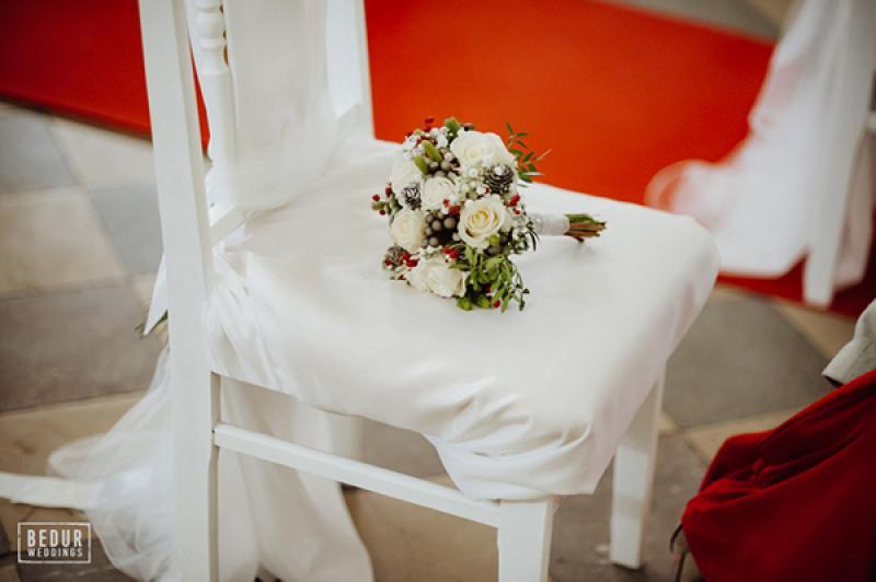 bukiet zimowy na ślub warszawa