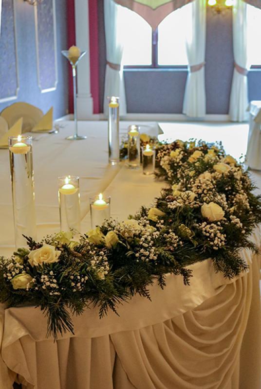 kwiaty zimowe wesele warszawa