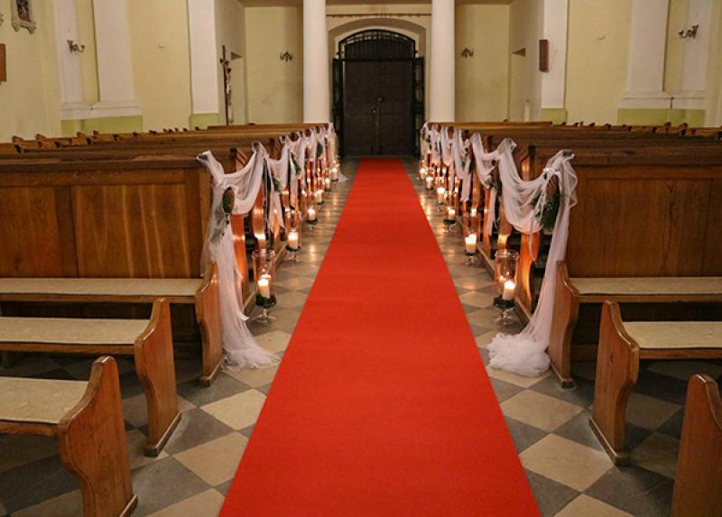 zimowa dekoracja ślubna warszawa