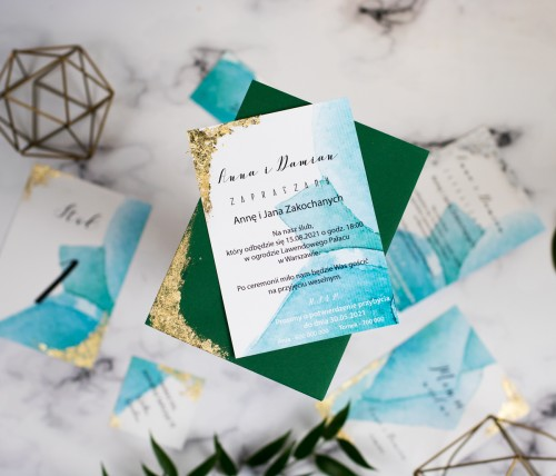 zaproszenie-slubne-zielony-zloty