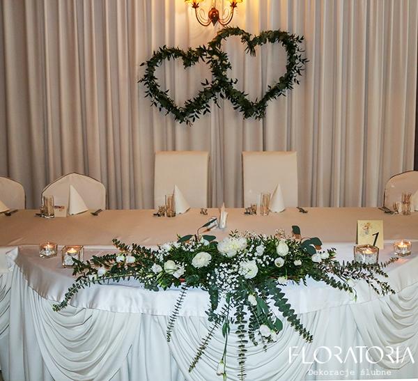 ślub Motyw Greenery Floratoria Dekoracje ślubne